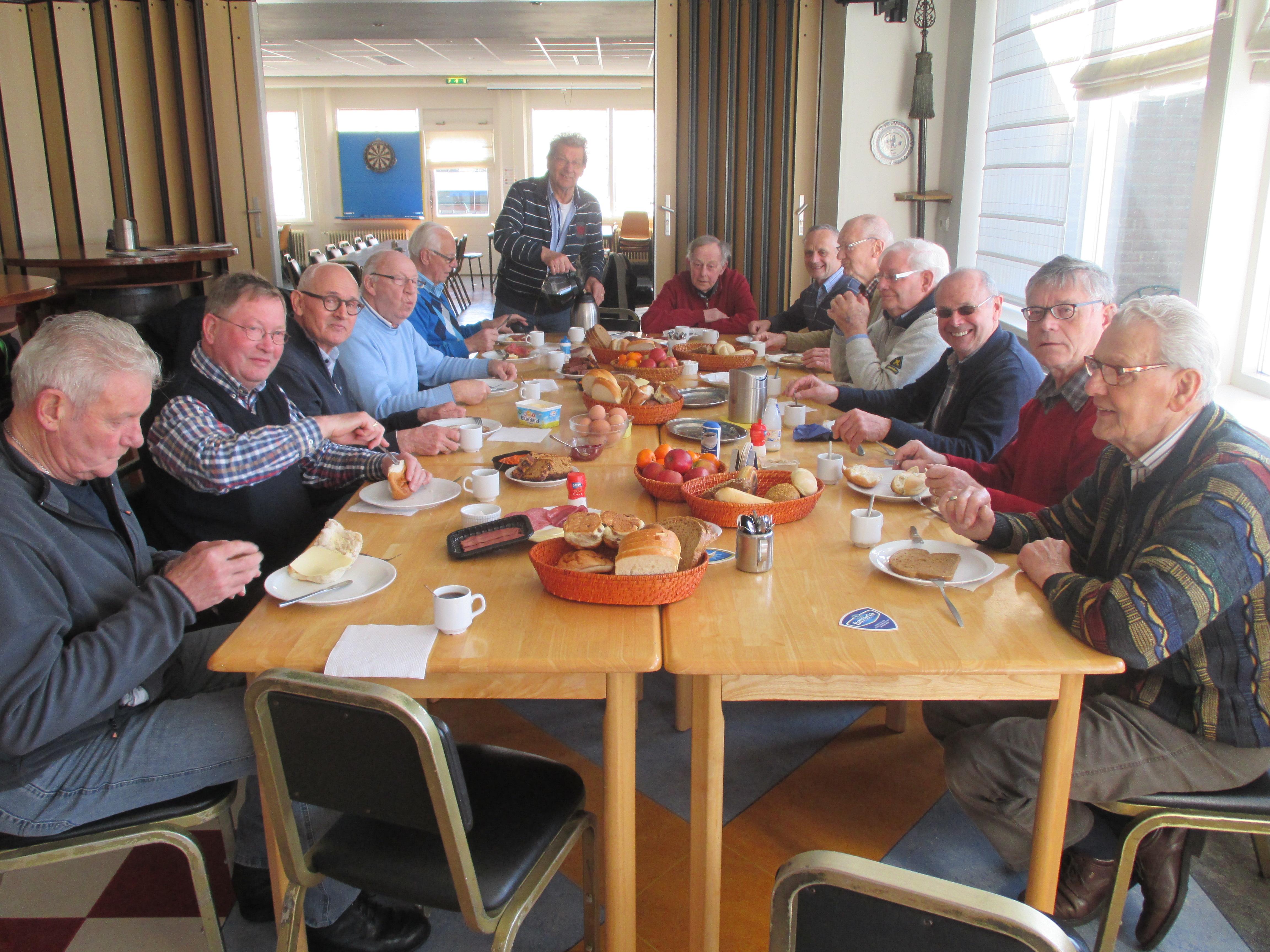 Ontbijt 'Het Genootschap'