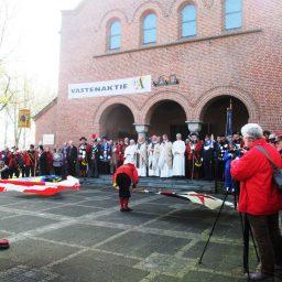 St. Barbara Gilde Dinther naar de Heilige Augustinus Parochie te Middelrode