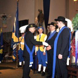 Sint Barbaragilde installeert 3 nieuwe gildebroeders